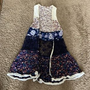 Free people vest size small